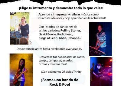 Rock&Pop escuela