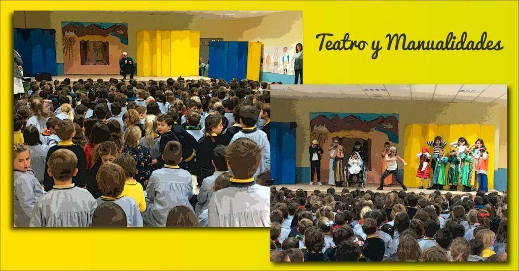 """Representación teatral de los alumnos de """"Teatro y Manualidades"""""""