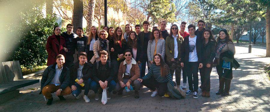 Visitamos la UPCT con los alumnos de 2º de Bachiller