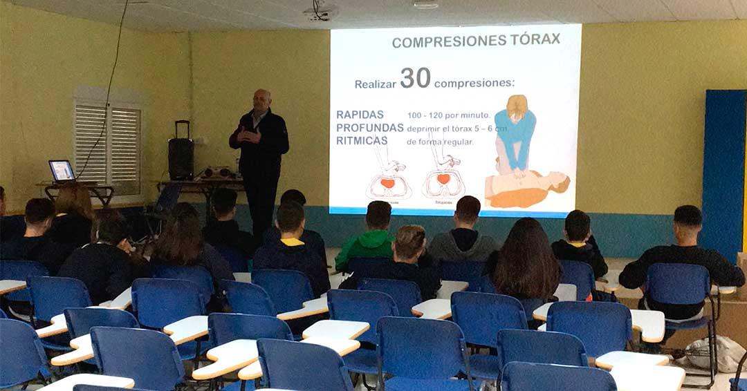 RCB con los alumnos de 4º de la ESO