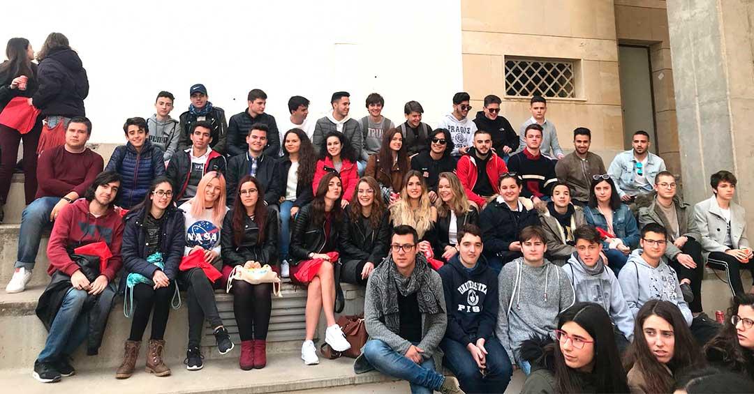 1º de Bachillerato visita la Universidad de Murcia