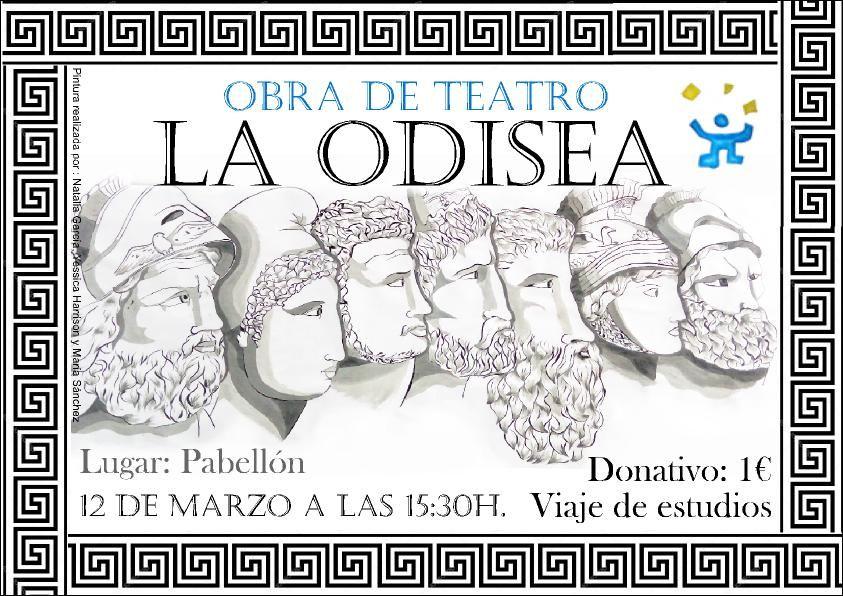 """""""La Odisea"""" representada por los alumnos"""