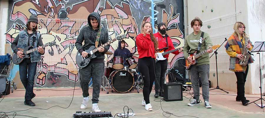 Concierto de los alumnos de la Escuela de Rock&Pop