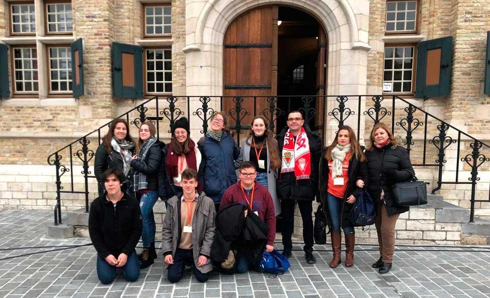 Programa Erasmus+. ¡Llegamos a Dixmuda!