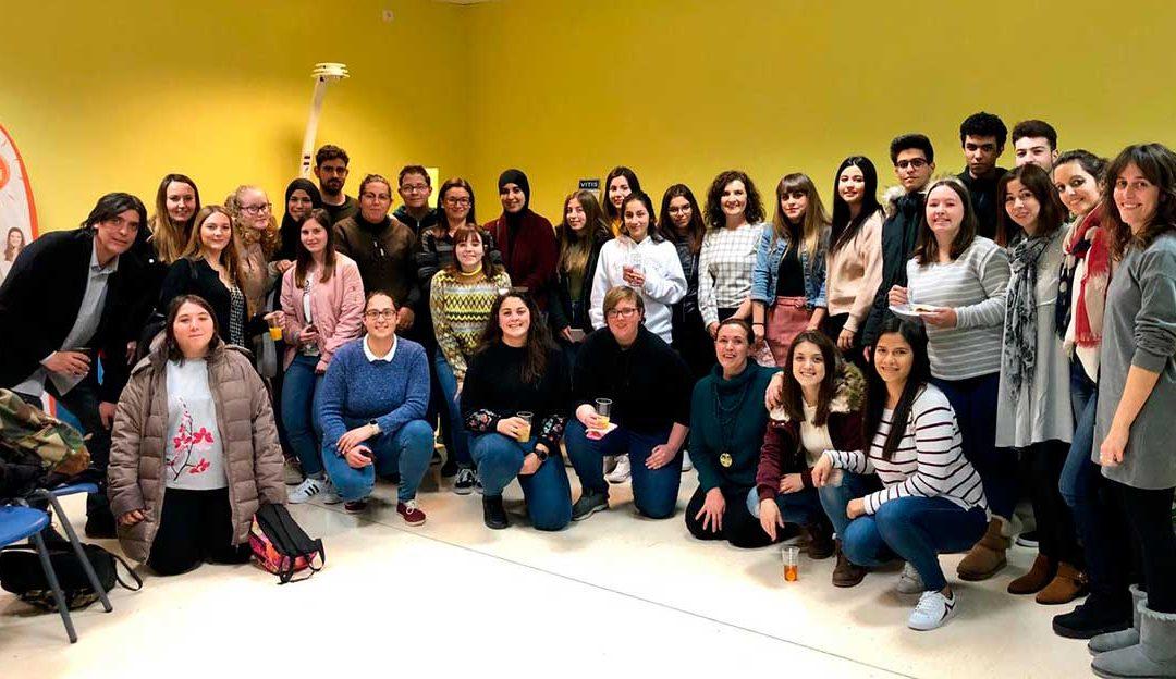 Charla con los alumnos de FP de Farmacia
