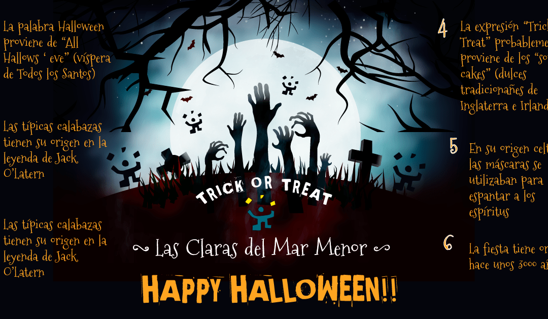 ¿Trick or Treat? ¡No te pierdas estas curiosidades sobre Halloween!