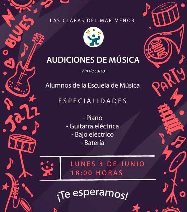 Audiciones de Música