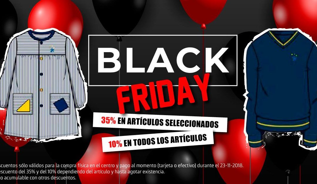 ¡Descuentos Black Friday en uniformes!