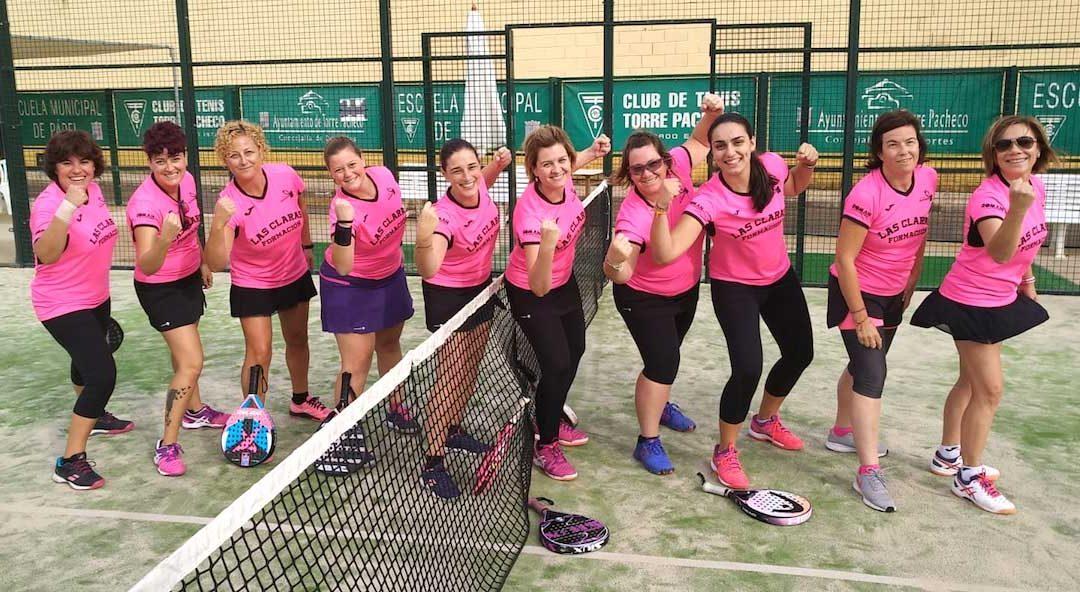 Otra victoria más del equipo de padel Las Claras