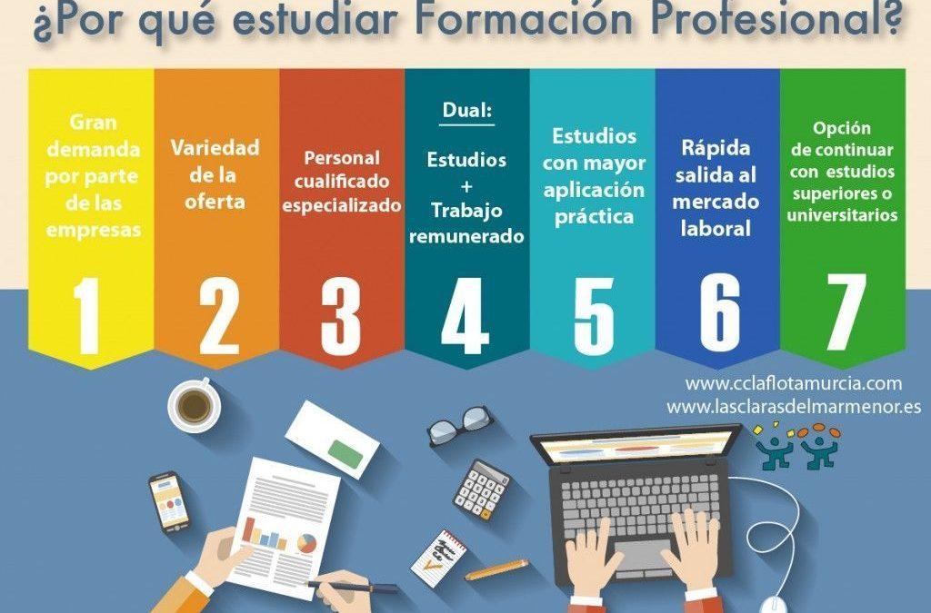 7 Motivos para estudiar Formación Profesional